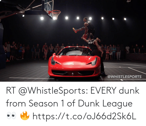 season 1: RT @WhistleSports: EVERY dunk from Season 1 of Dunk League 👀 🔥 https://t.co/oJ66d2Sk6L
