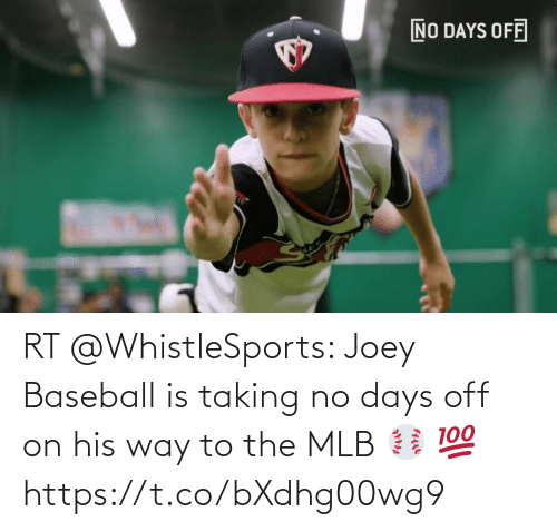 MLB: RT @WhistleSports: Joey Baseball is taking no days off on his way to the MLB ⚾️ 💯 https://t.co/bXdhg00wg9