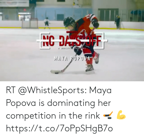 competition: RT @WhistleSports: Maya Popova is dominating her competition in the rink 🏒 💪https://t.co/7oPpSHgB7o