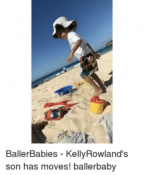 Memes, 🤖, and Rti: rti BallerBabies - KellyRowland's son has moves! ballerbaby