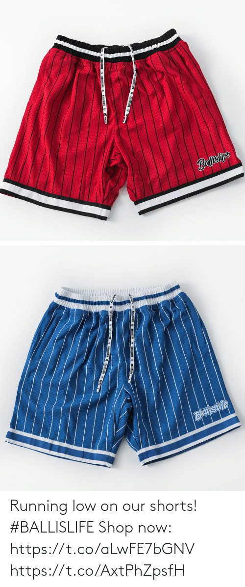 Low: Running low on our shorts! #BALLISLIFE   Shop now: https://t.co/aLwFE7bGNV https://t.co/AxtPhZpsfH
