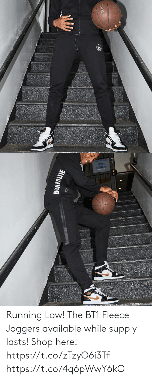 Low: Running Low! The BT1 Fleece Joggers available while supply lasts!  Shop here: https://t.co/zTzyO6i3Tf https://t.co/4q6pWwY6kO