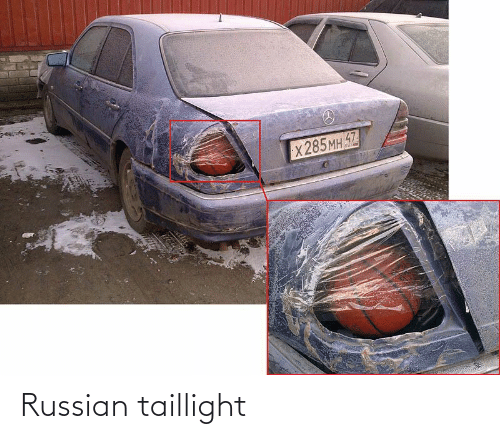 Russian: Russian taillight