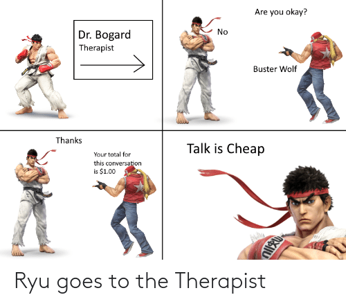 ryu: Ryu goes to the Therapist
