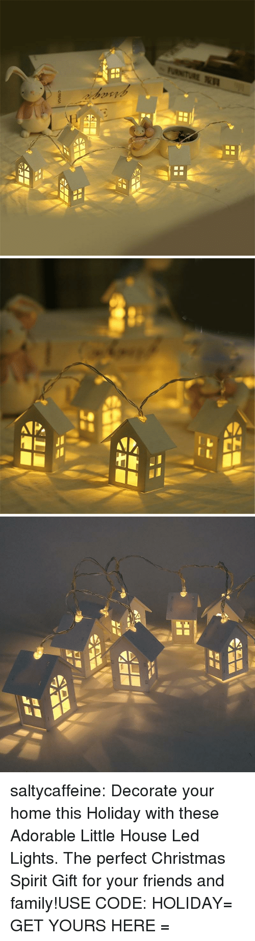 little house: saltycaffeine:  Decorate your home this Holiday with these Adorable Little House Led Lights. The perfect Christmas Spirit Gift for your friends and family!USE CODE: HOLIDAY= GET YOURS HERE =