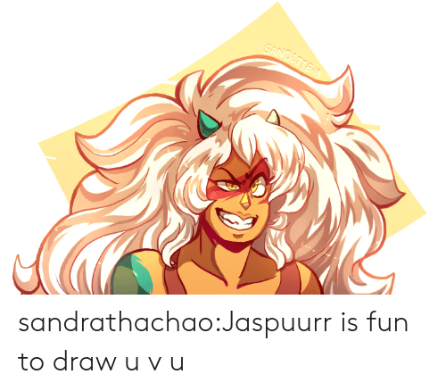 Tumblr, Blog, and Fun: SANDETTE A sandrathachao:Jaspuurr is fun to draw u v u