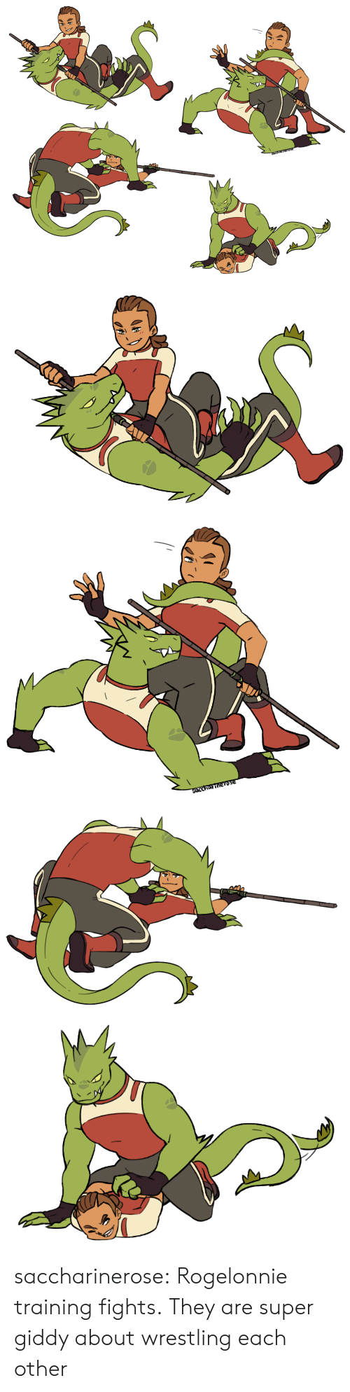 Tumblr, Wrestling, and Blog: SArCharinerose   SOccharinerose saccharinerose:  Rogelonnie training fights.They are super giddy about wrestling each other