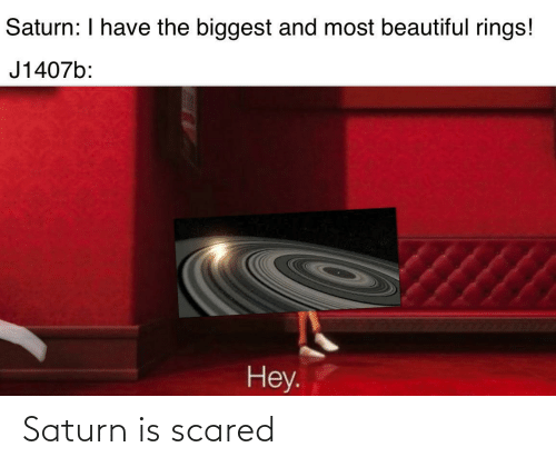 scared: Saturn is scared