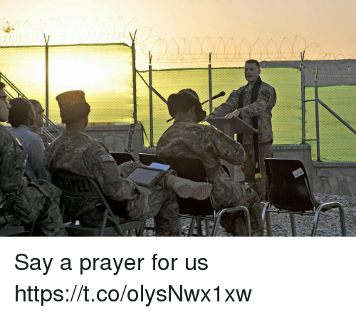 Memes, Prayer, and 🤖: Say a prayer for us https://t.co/olysNwx1xw
