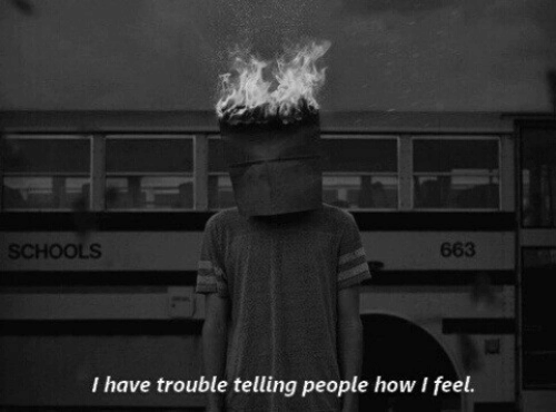 How, Feel, and People: SCHOOLS  663  I have trouble telling people how I feel.