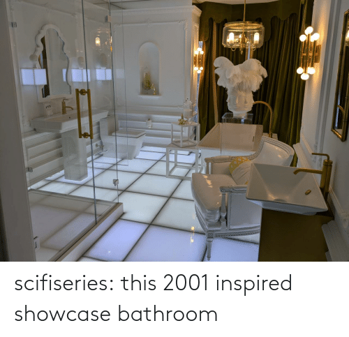 Tumblr, Blog, and Com: scifiseries:  this 2001 inspired showcase bathroom