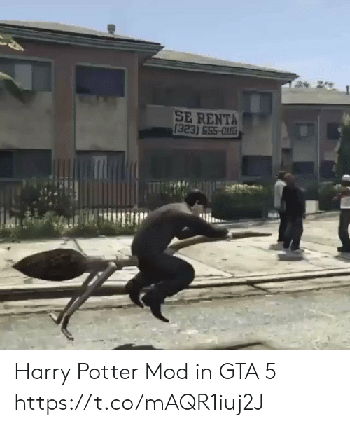 Harry Potter, Gta 5, and Gta: SE RENTA  [323) 555-003 Harry Potter Mod in GTA 5 https://t.co/mAQR1iuj2J