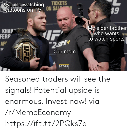 enormous: Seasoned traders will see the signals! Potential upside is enormous. Invest now! via /r/MemeEconomy https://ift.tt/2PQks7e