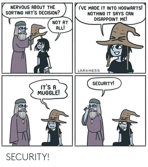 security: SECURITY!