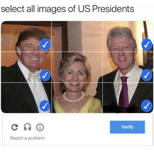 Images, Presidents, and Us Presidents: select all images of US Presidents  Verify  Report a problem