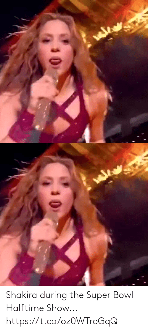 Shakira: Shakira during the Super Bowl Halftime Show... https://t.co/oz0WTroGqQ