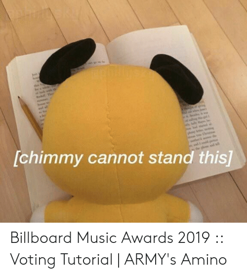 voting: shi  [chimmy cannot stand this]  the Billboard Music Awards 2019 :: Voting Tutorial | ARMY's Amino