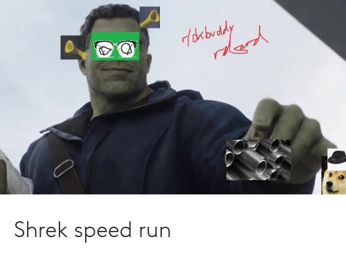 Shrek: Shrek speed run