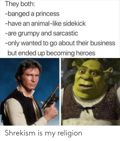 My Religion: Shrekism is my religion