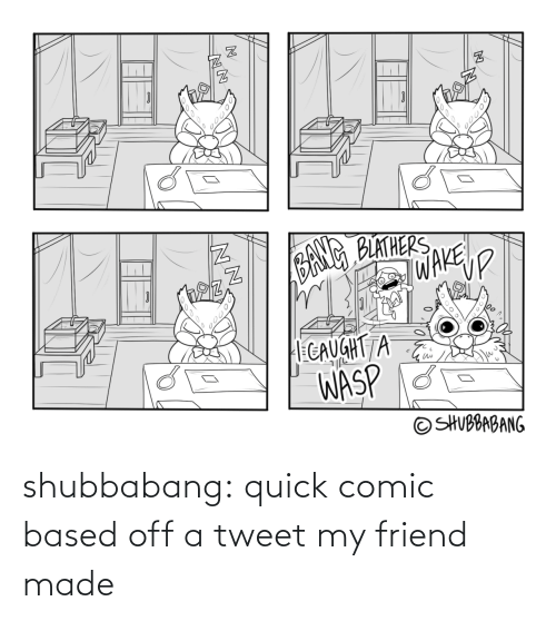 made: shubbabang:  quick comic based off a tweet my friend made