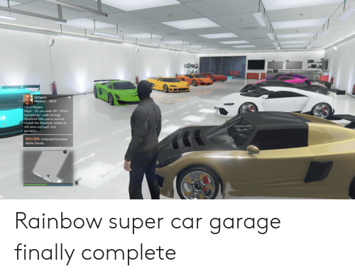 Alive, American, and Business: Simeon  Mission-NEW  1 to 4 Players  even lift?, 1372m  Semotiomes Lwalk through  Rockford Hills just to remind  myself the American dream is  still alive and well. And  sometim...  Sierra rOcks collected Business  Battle Goods.  m Rainbow super car garage finally complete