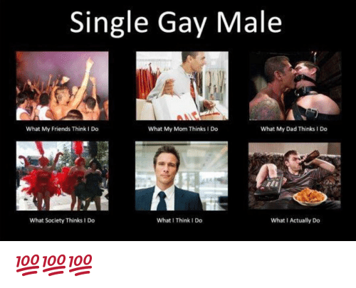 I Think I Do: Single Gay Male  What My Friends Think I Do  What My Mom Thinks I Do  What My Dad Thinks I Do  What Society Thinks 1 Do  What I Think I Do  What I Actually Do 💯💯💯