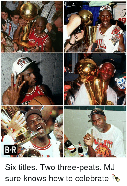 How To, How, and Three: Six titles. Two three-peats.  MJ sure knows how to celebrate 🍾