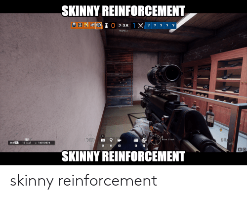 Reinforcement: skinny reinforcement