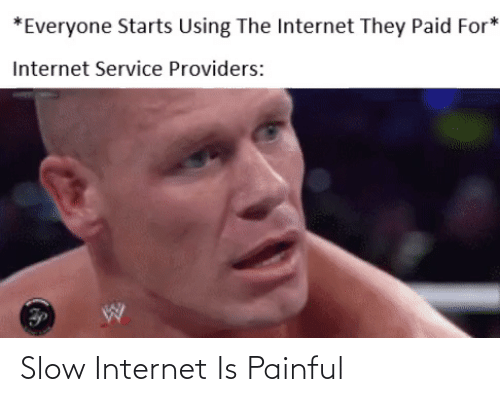 Painful: Slow Internet Is Painful