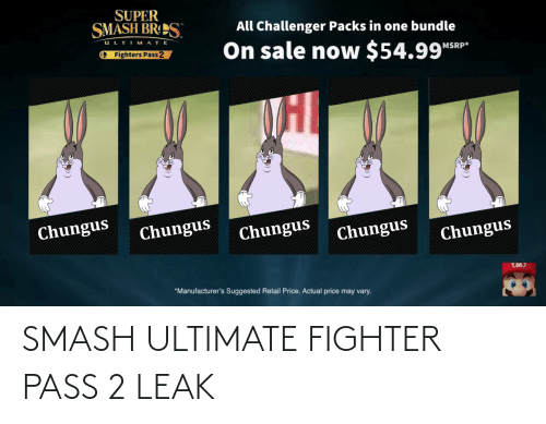 Smash Ultimate: SMASH ULTIMATE FIGHTER PASS 2 LEAK