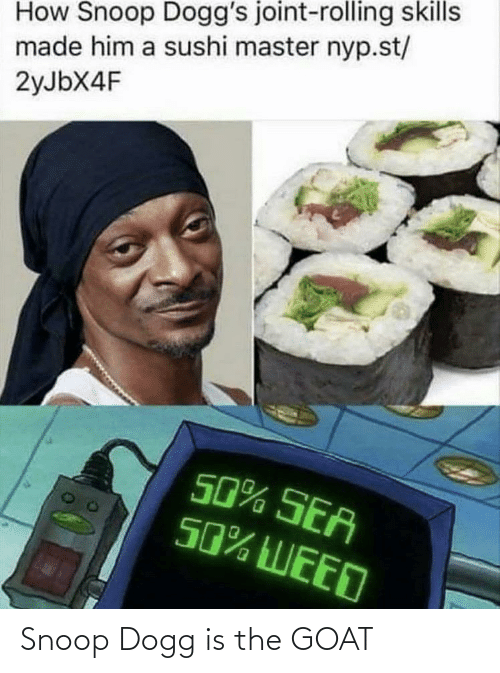 snoop dogg: Snoop Dogg is the GOAT