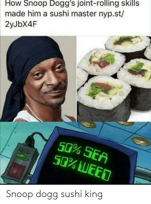 snoop dogg: Snoop dogg sushi king