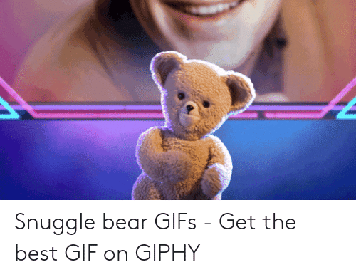 snuggle bear: Snuggle bear GIFs - Get the best GIF on GIPHY