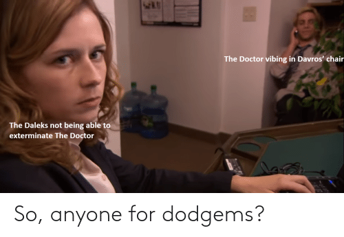 Doctor Who: So, anyone for dodgems?