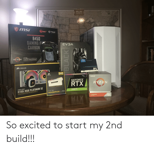 excited: So excited to start my 2nd build!!!