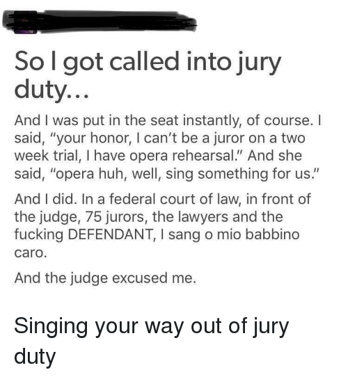 ✅ 25+ Best Memes About Get Out of Jury Duty | Get Out of