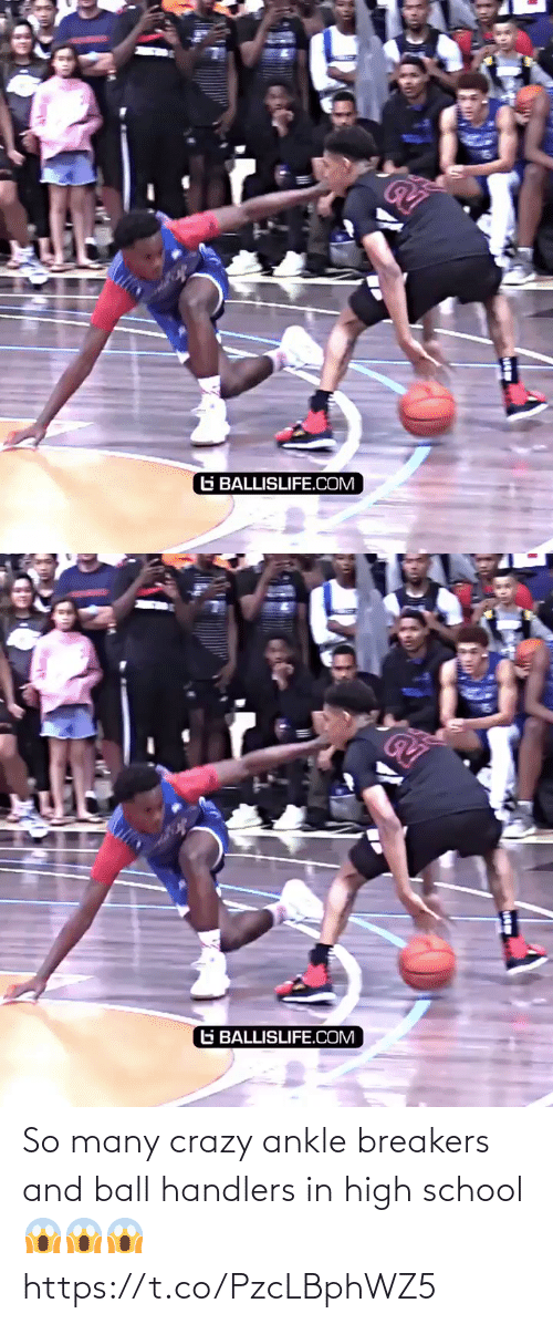high school: So many crazy ankle breakers and ball handlers  in high school 😱😱😱 https://t.co/PzcLBphWZ5