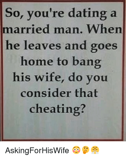 dating a married man advice