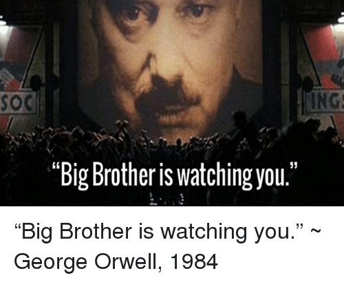 the weakness of big brother in 1984 by george orwell