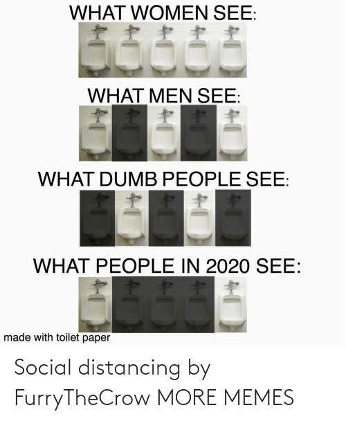 social: Social distancing by FurryTheCrow MORE MEMES