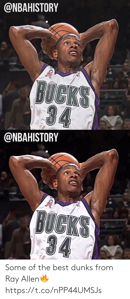 the best: Some of the best dunks from Ray Allen🔥 https://t.co/nPP44UMSJs