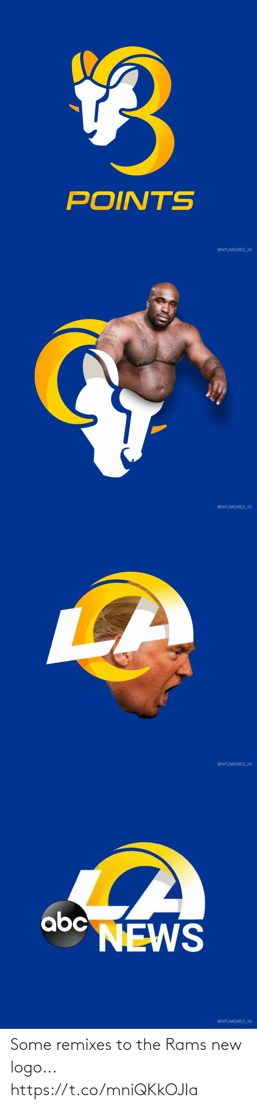 NFL: Some remixes to the Rams new logo... https://t.co/mniQKkOJIa