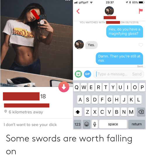 falling: Some swords are worth falling on