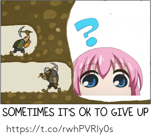 Sometimes,  Give Up, and Its-Ok: SOMETIMES ITS OK TO GIVE UP https://t.co/rwhPVRIy0s