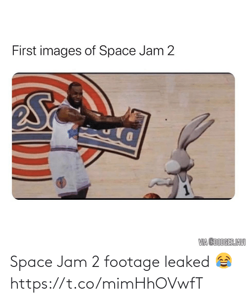 jam: Space Jam 2 footage leaked 😂 https://t.co/mimHhOVwfT