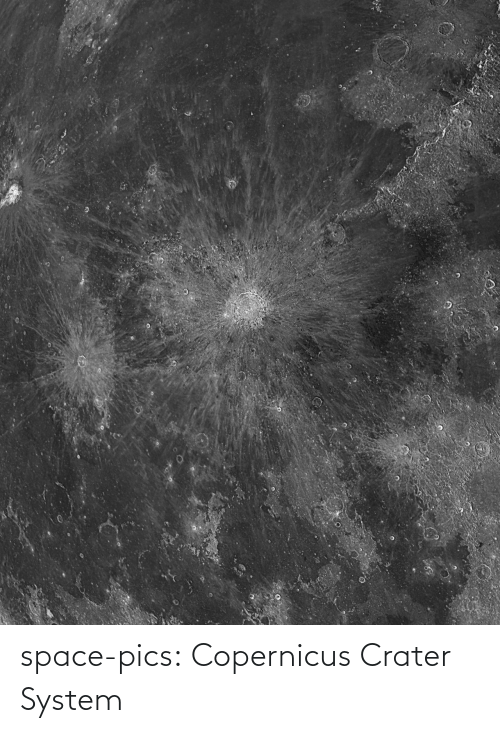 Space: space-pics:  Copernicus Crater System