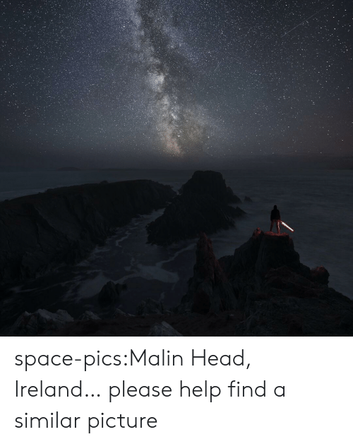 Head, Tumblr, and Blog: space-pics:Malin Head, Ireland… please help find a similar picture
