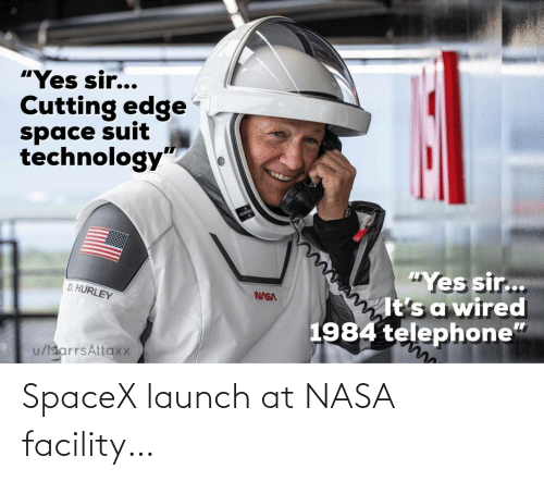 Spacex: SpaceX launch at NASA facility…