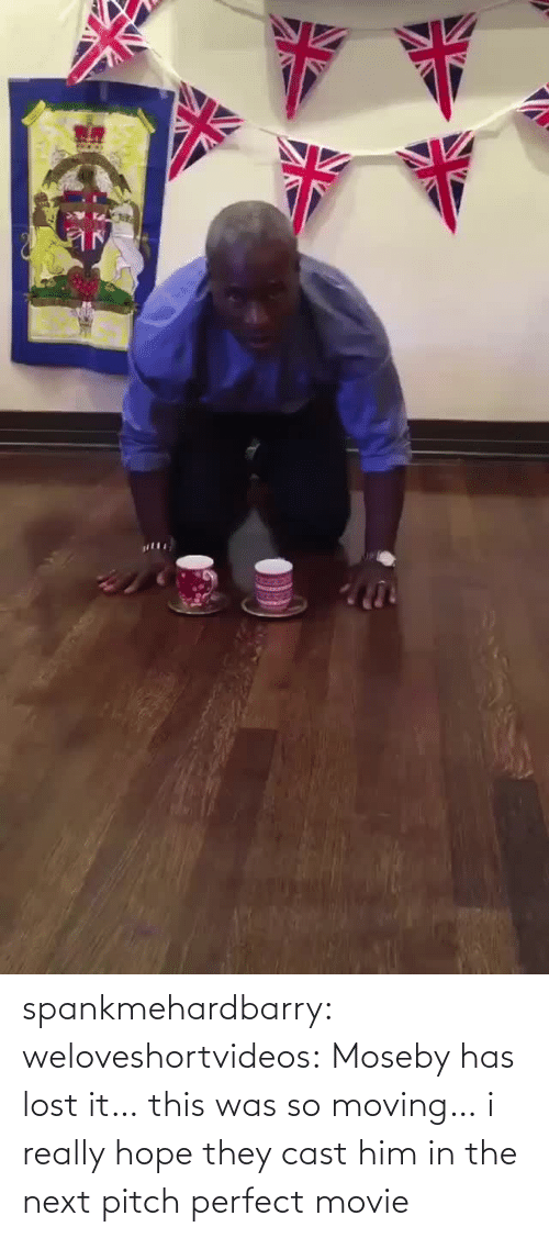 I Really: spankmehardbarry: weloveshortvideos:  Moseby has lost it…  this was so moving… i really hope they cast him in the next pitch perfect movie
