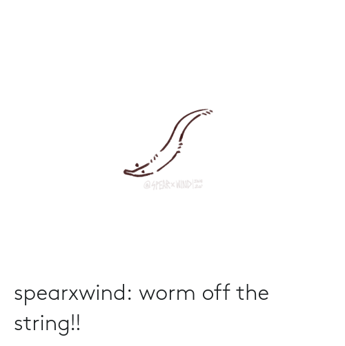 worm: spearxwind:  worm off the string!!